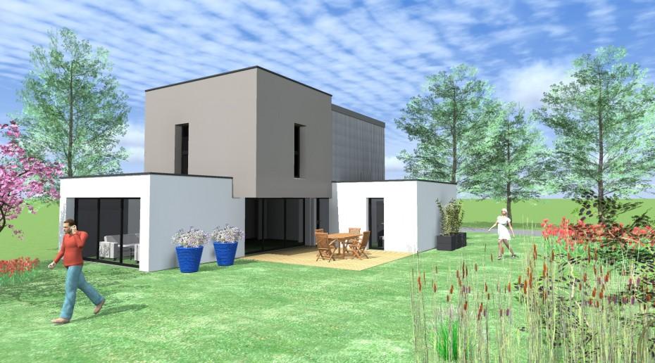Maison D'Architecte Au Rheu (35).
