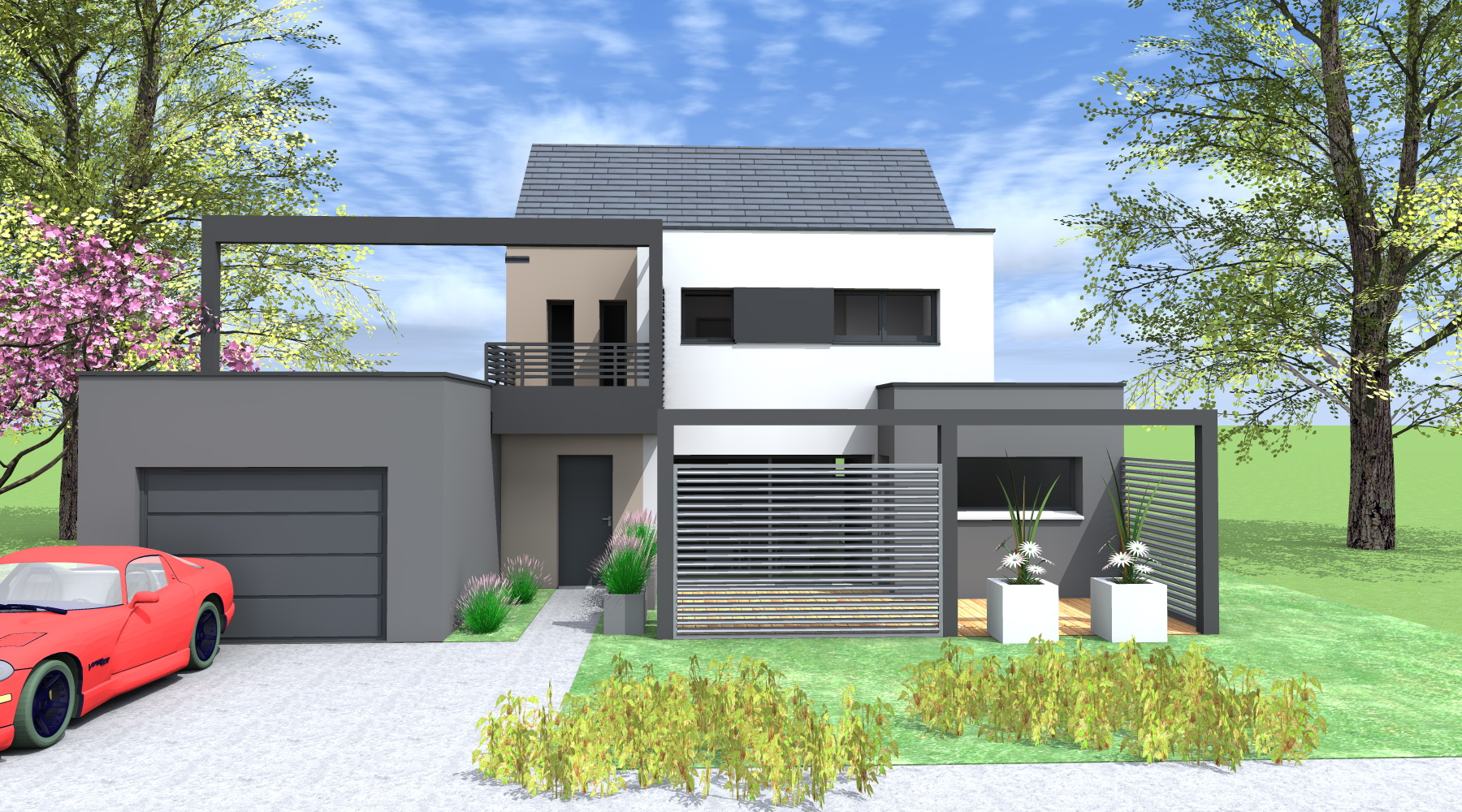 Projet G+G Maison Du0027architecte