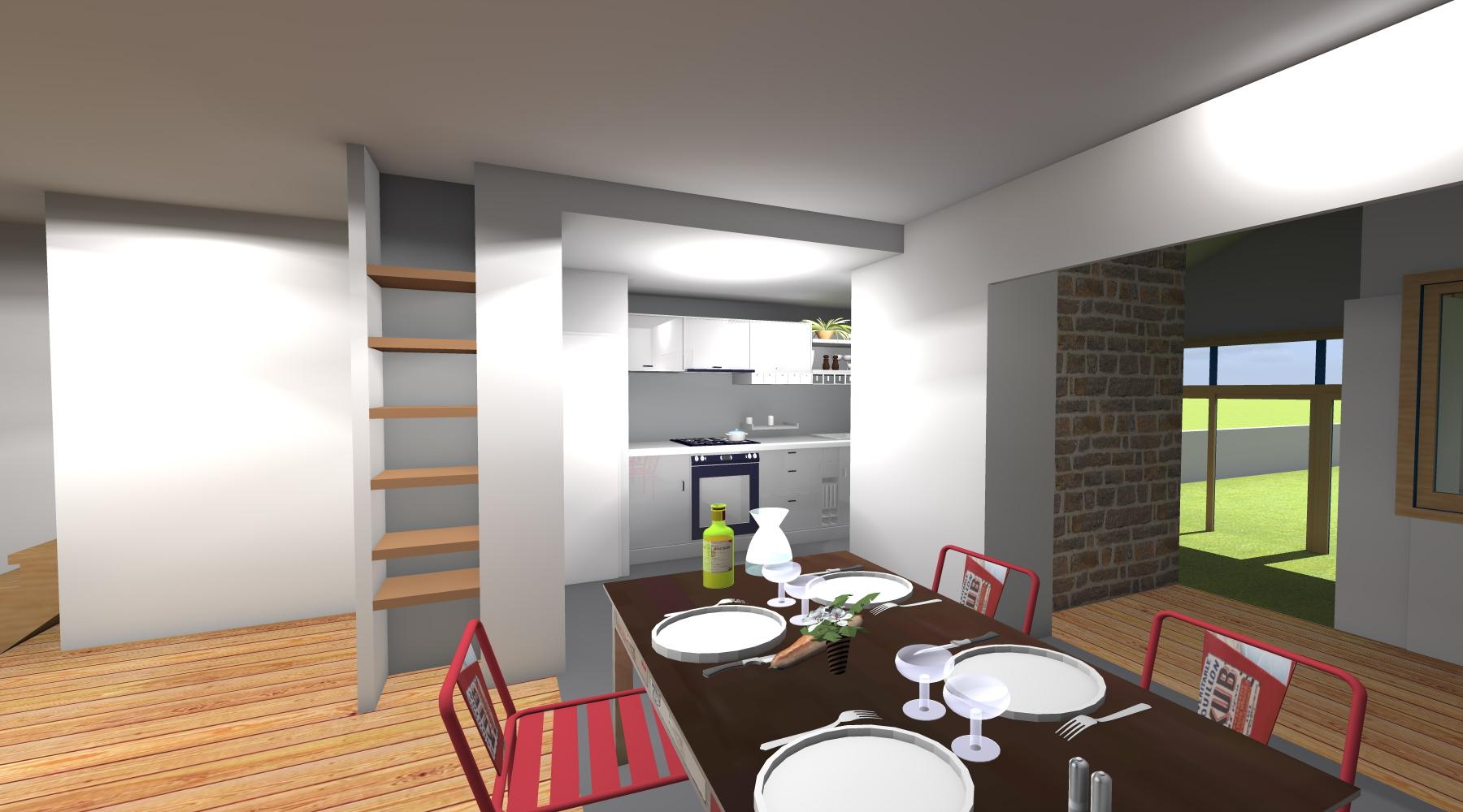 am nagement int rieur d 39 une maison rennes. Black Bedroom Furniture Sets. Home Design Ideas