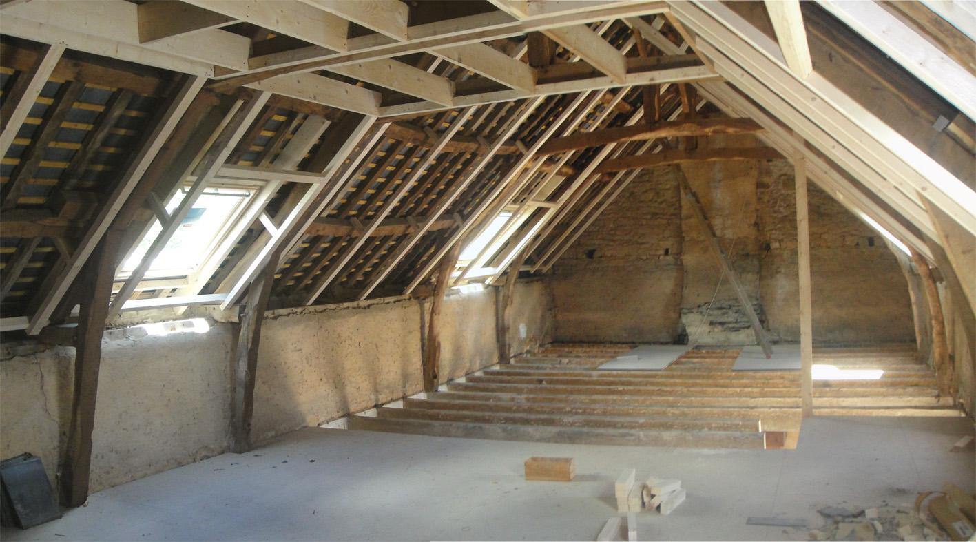 projet b 1 2 vue architecte lise roturier rennes 35000. Black Bedroom Furniture Sets. Home Design Ideas