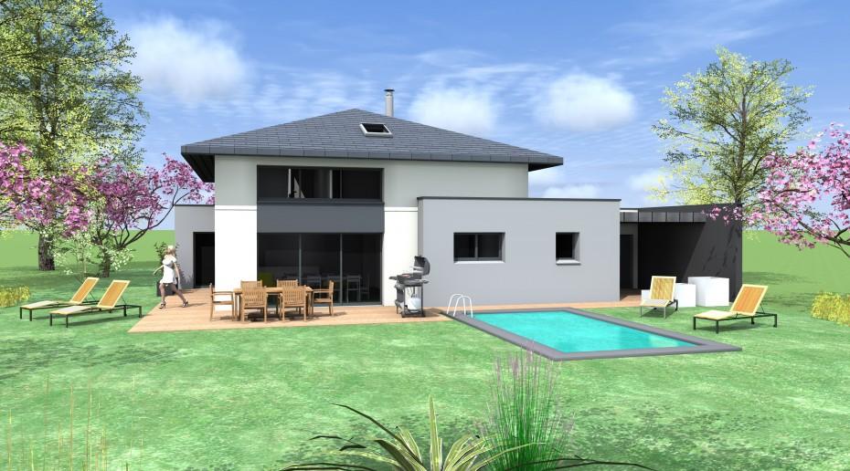 projet n g 1 2 vue architecte lise roturier rennes 35000. Black Bedroom Furniture Sets. Home Design Ideas