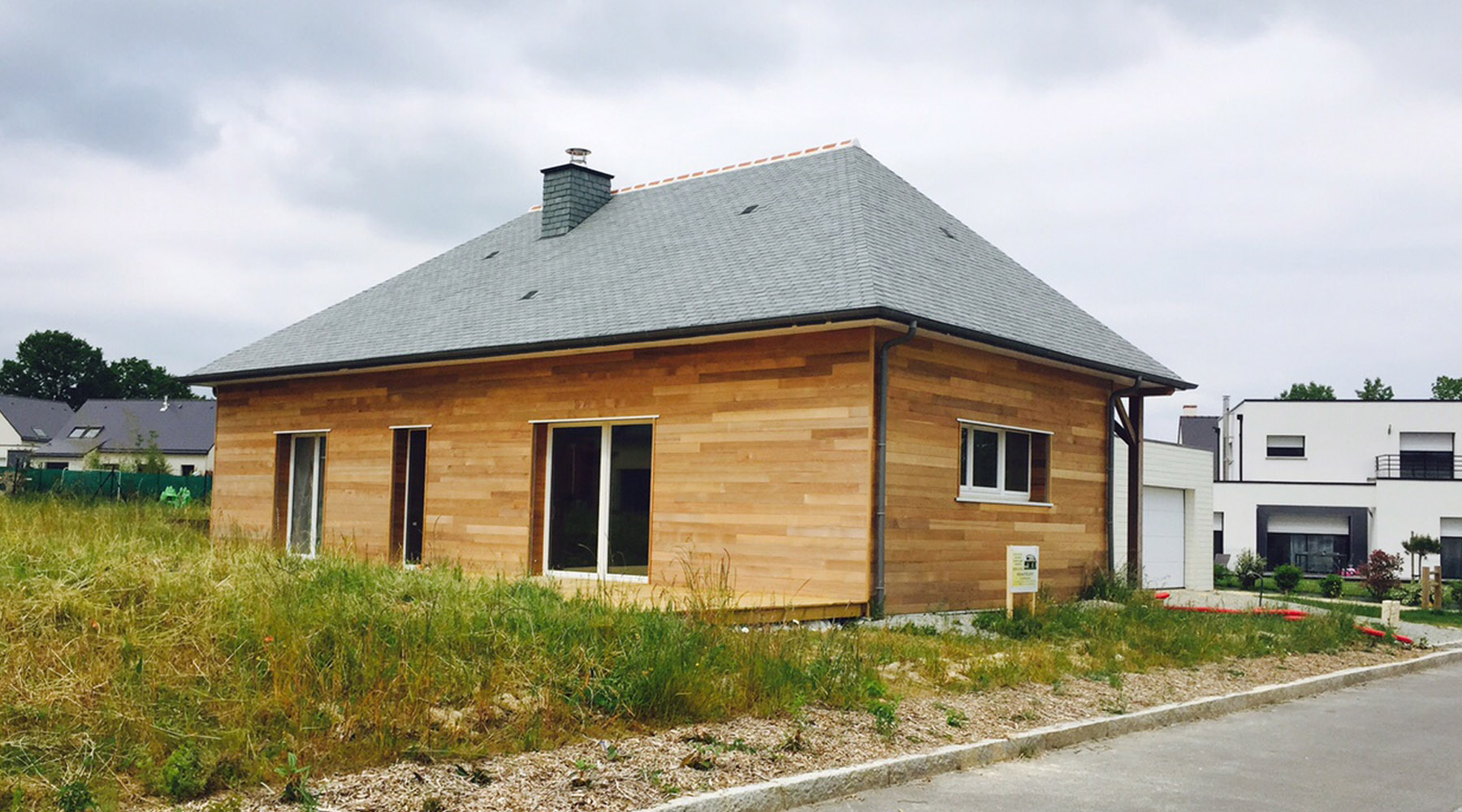 projet f 1 2 vue architecte lise roturier rennes 35000. Black Bedroom Furniture Sets. Home Design Ideas