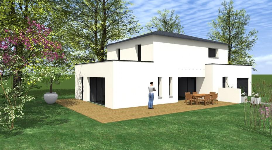 projet l a 1 2 vue architecte lise roturier rennes. Black Bedroom Furniture Sets. Home Design Ideas