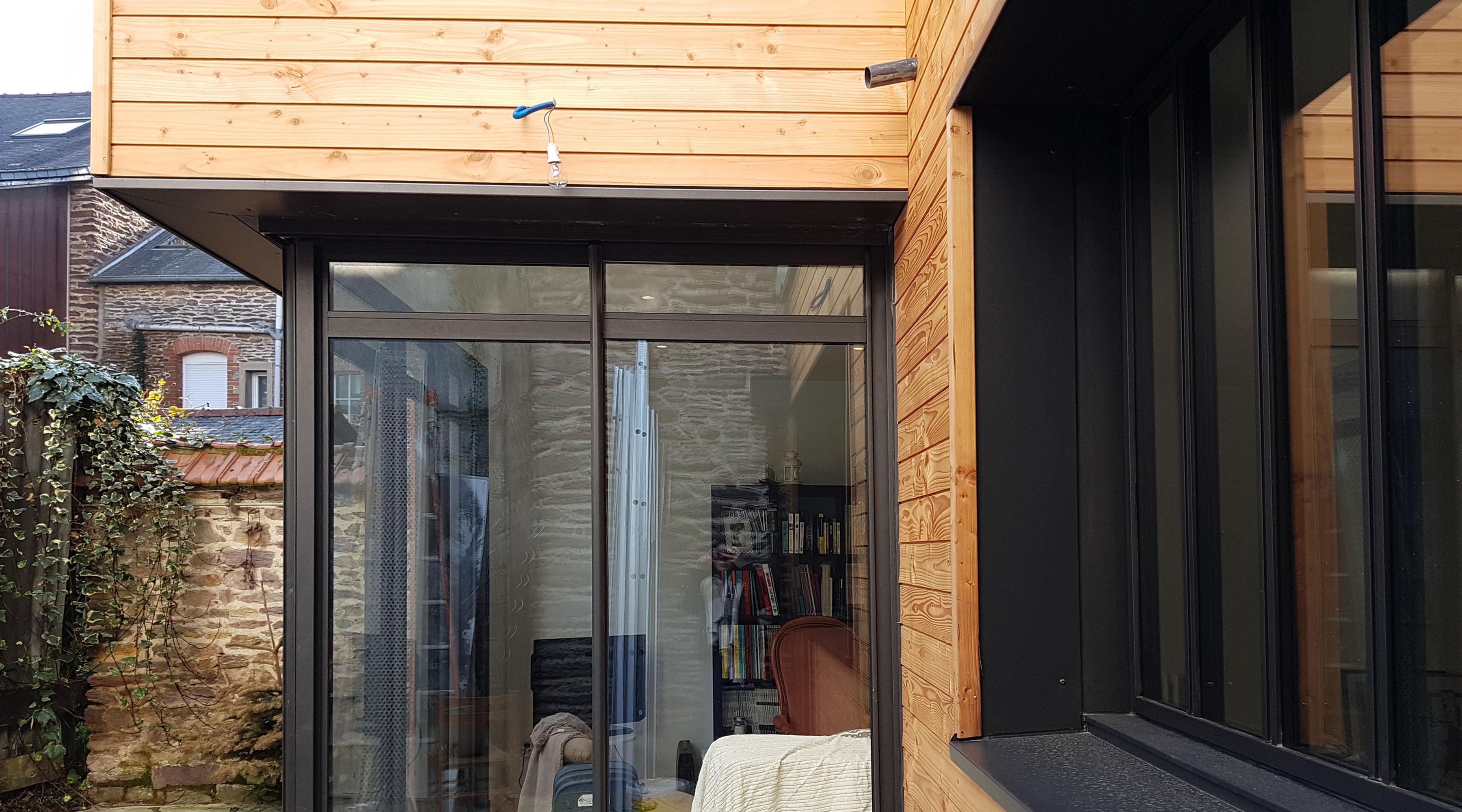 projet gg r 1 2 vue architecte lise roturier rennes 35000. Black Bedroom Furniture Sets. Home Design Ideas