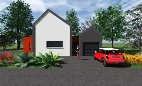Maison neuve architecte rennes