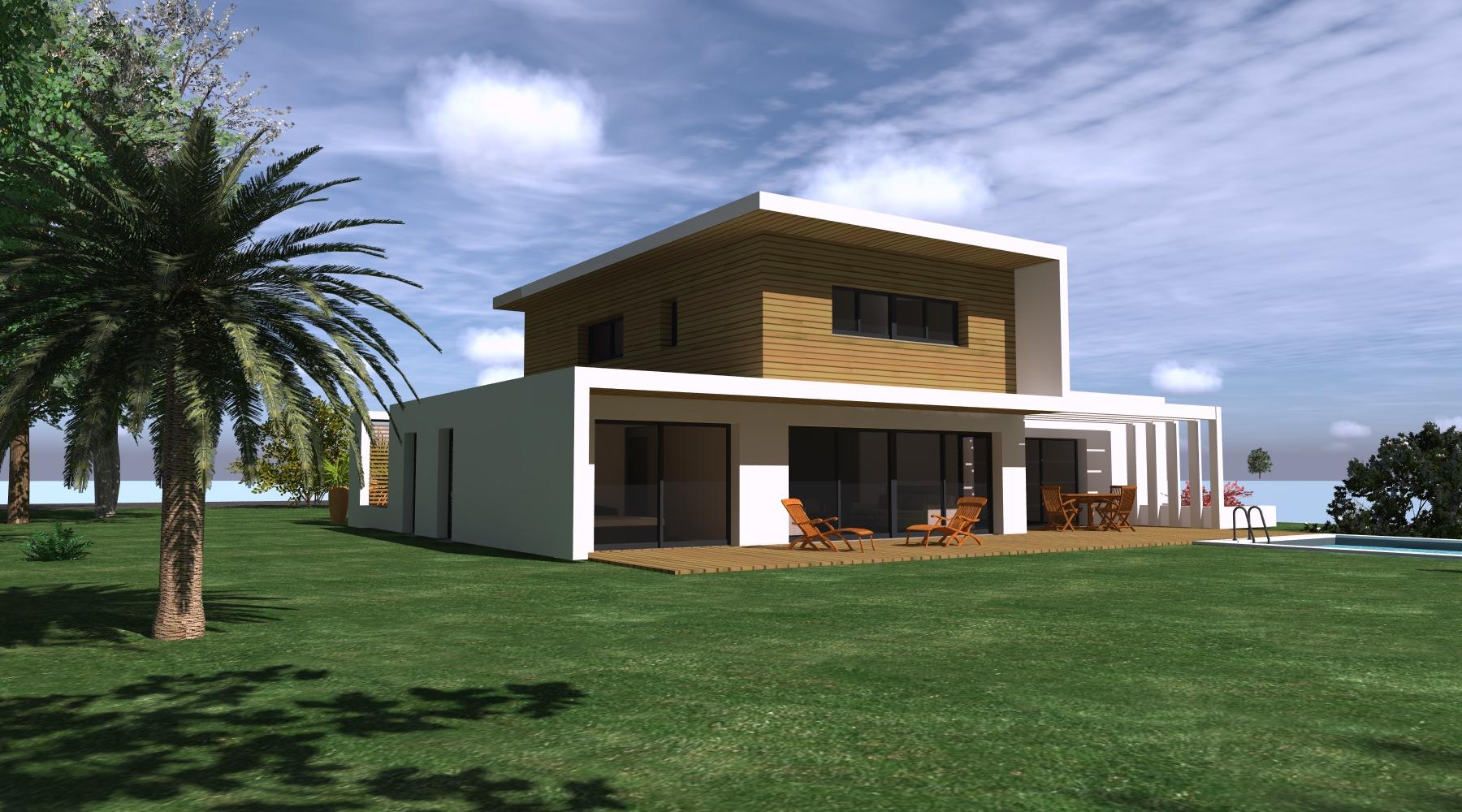 projet h mdb 1 2 vue architecte lise roturier rennes 35000. Black Bedroom Furniture Sets. Home Design Ideas